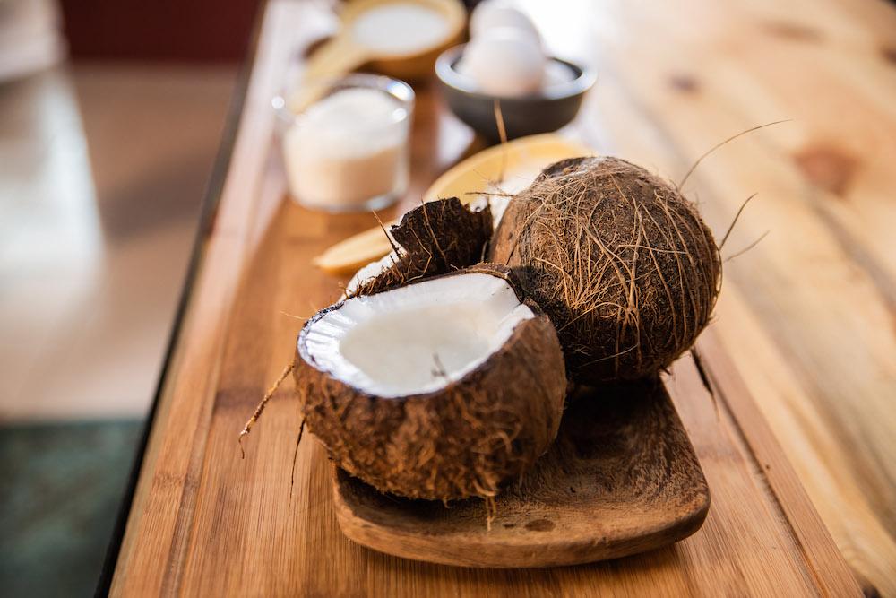 Brownie Choco Coco des Gourmandises de Karelle