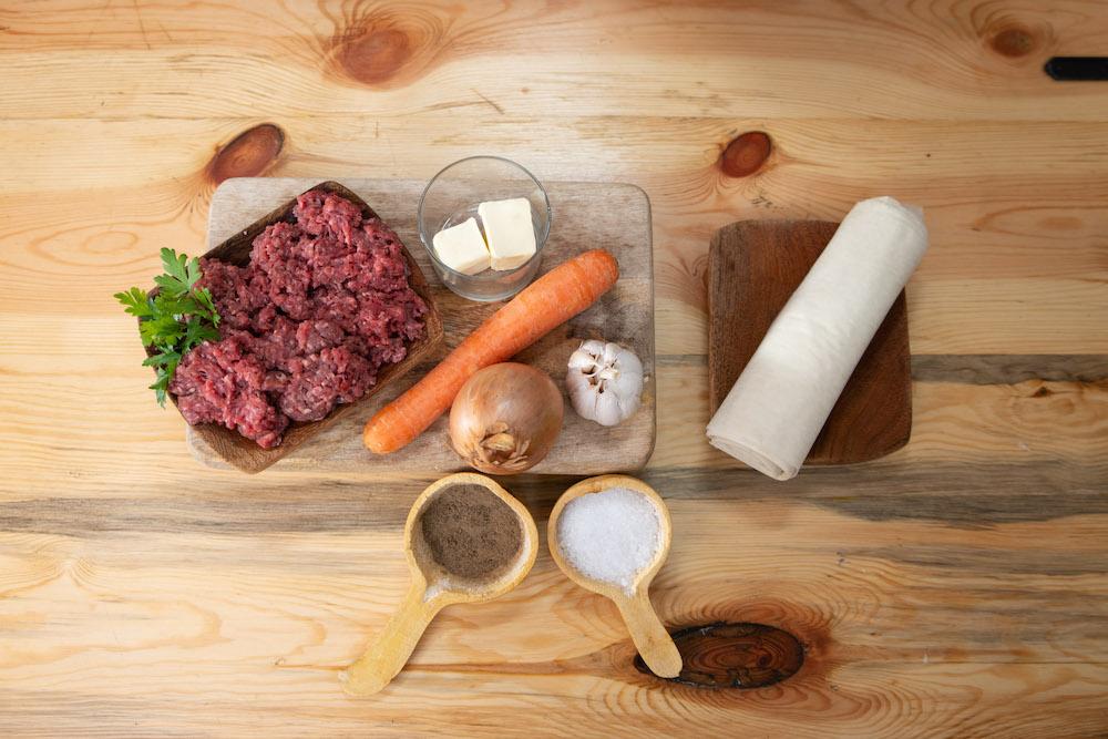 Rouleaux croustillant à la viande Ramadan