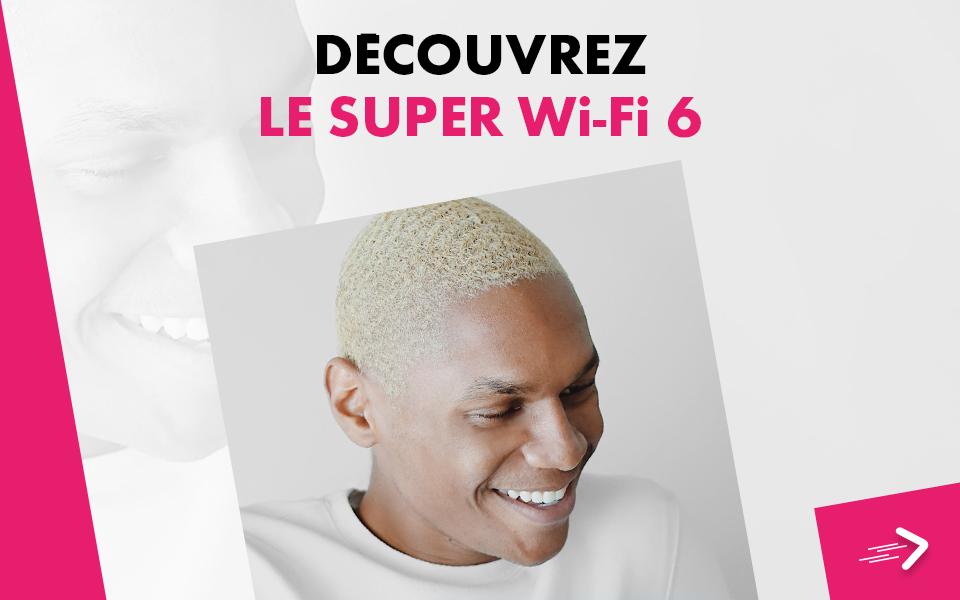 Découvrez le Super Wi-Fi 6 de CANALBOX, 4 fois plus performante - CANALBOX Caraïbes